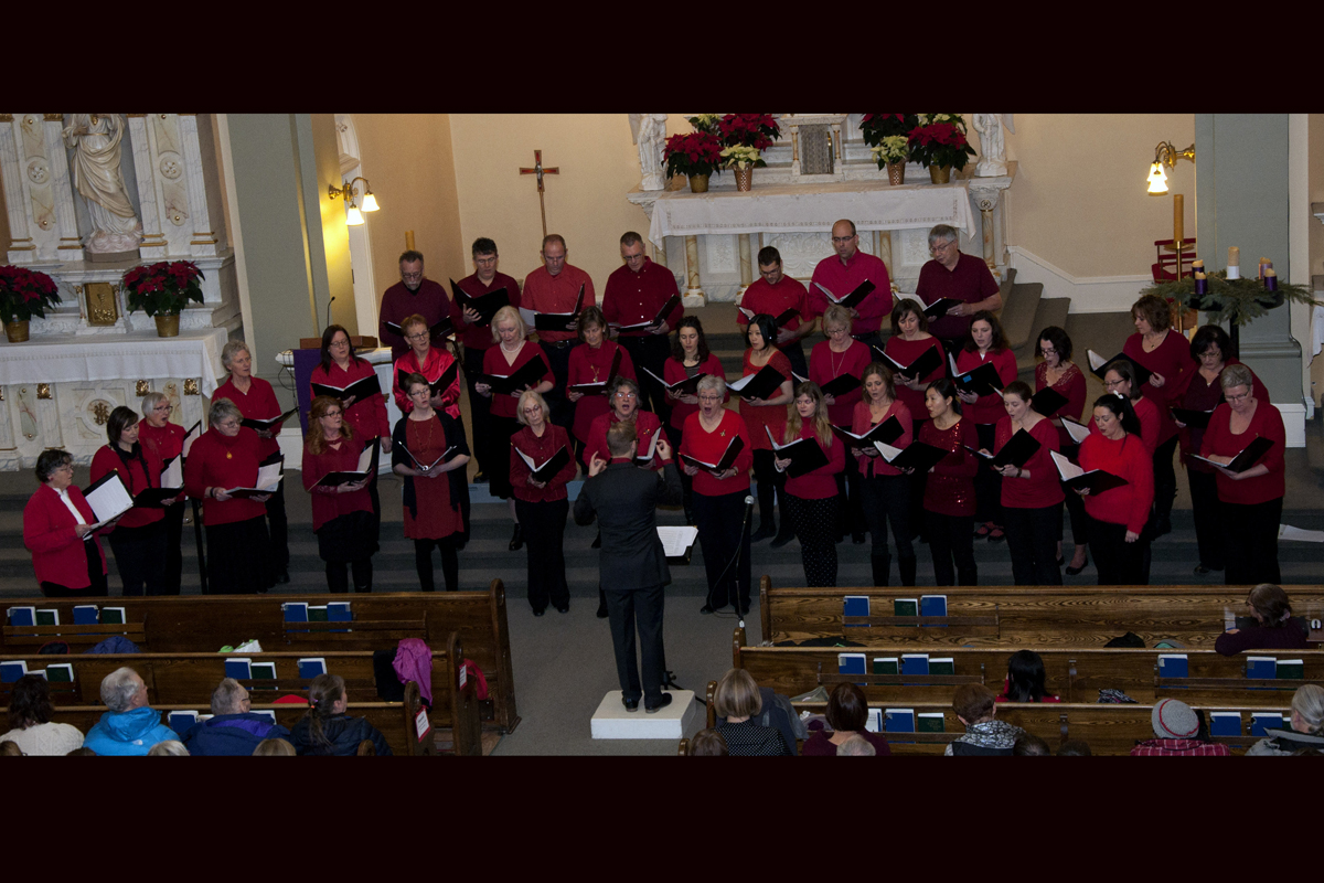 Fernie Community Choir, December 15, 2017