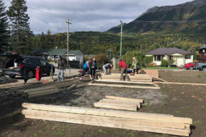 5 Constructing The Raised Beds Sept 24, 2018