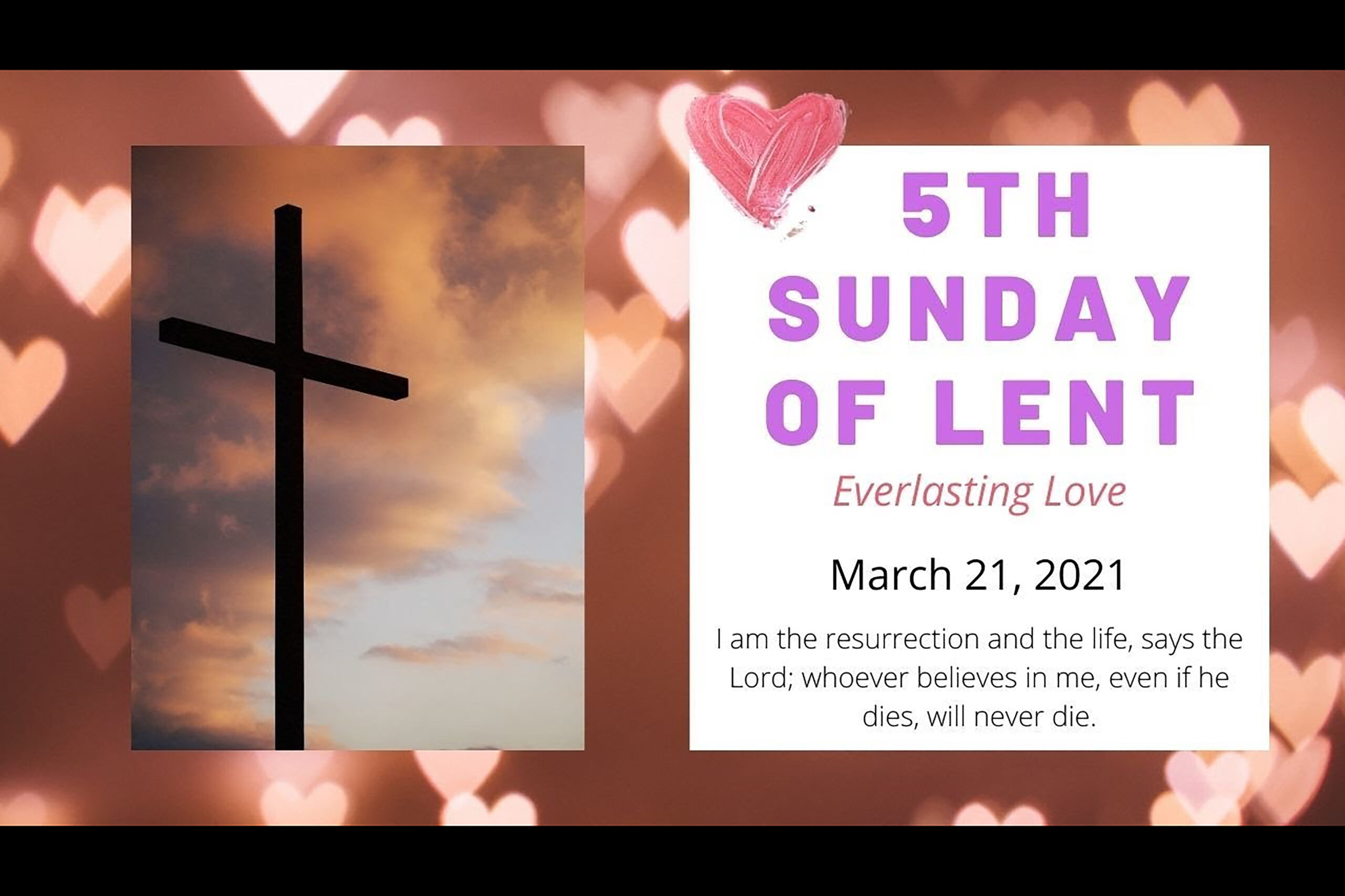 210321 Fr. David's Weekly Message