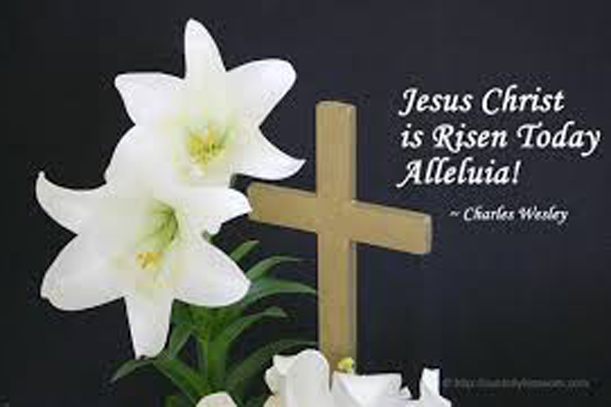 Easter Sunday, March 27, 2016 Bulletin