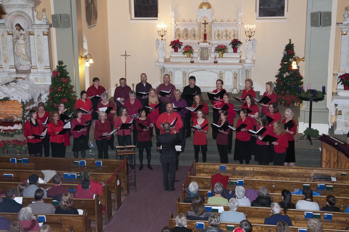 Fernie Community Choir Christmas Concert 2015