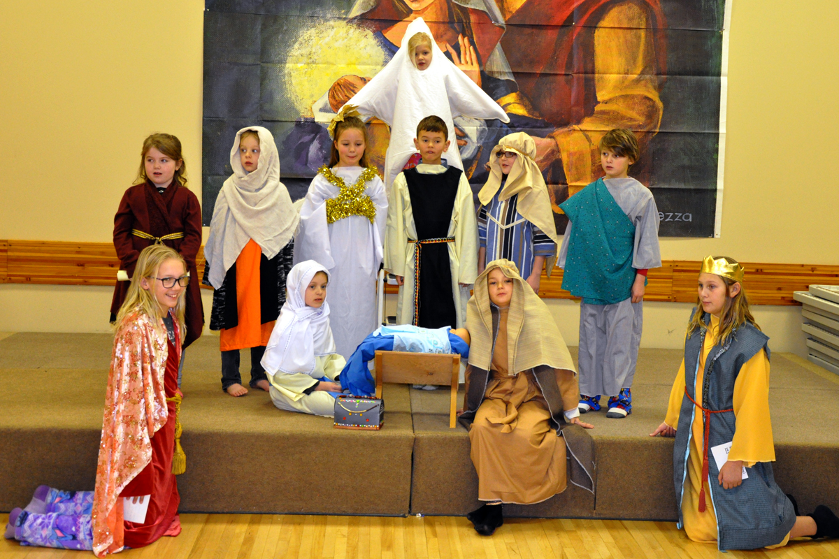 The Cast Of The Nativity Play, 2016