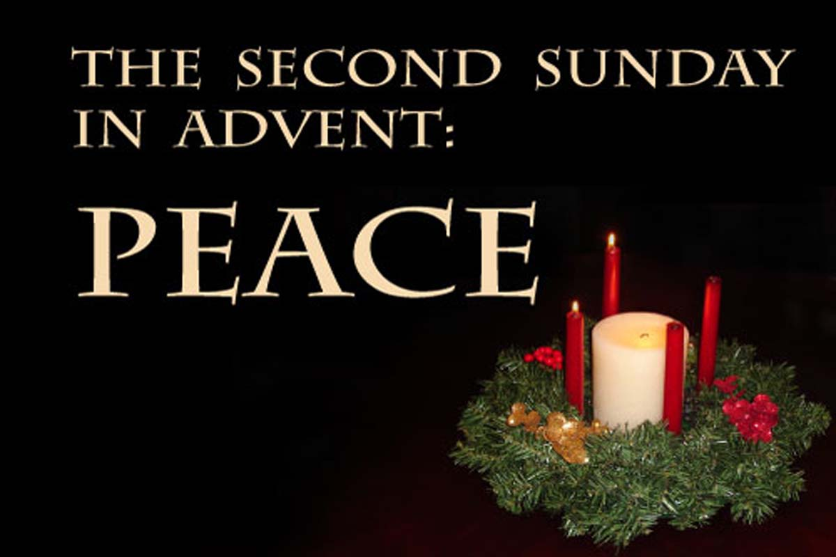 The Second Sunday In Advent Peace 1200×800