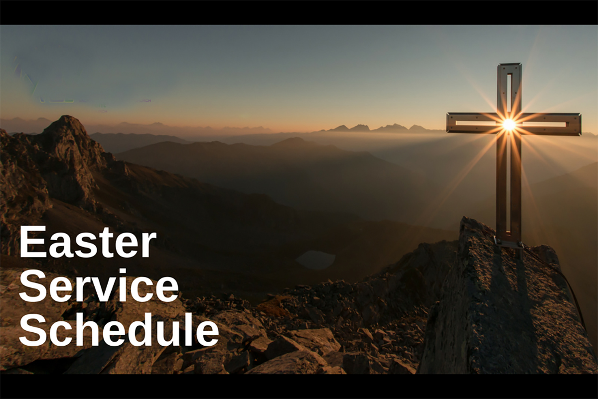 Easter Services, 2019