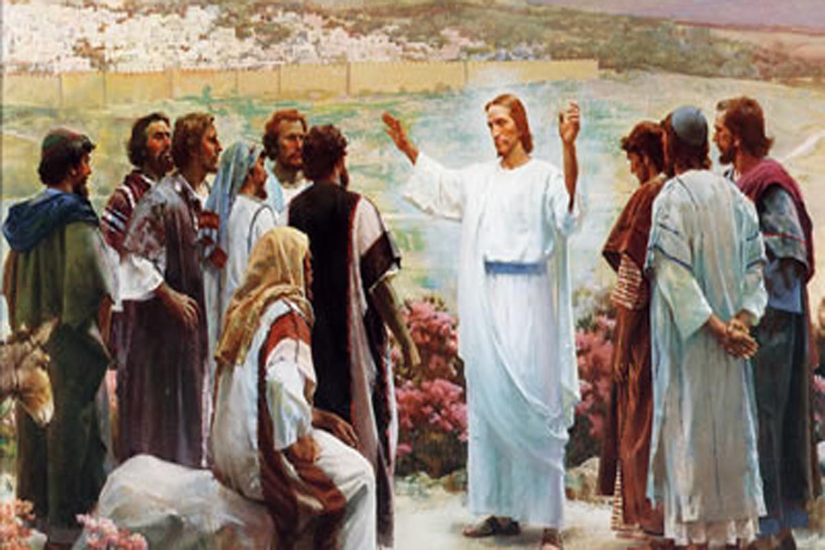 Jesus Sends Apostles Preach 1200×800